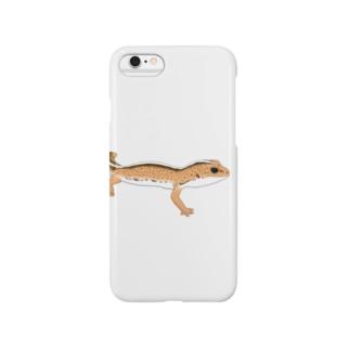 トカゲモドキ Smartphone cases