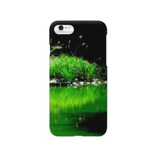 グリーンビタミン Smartphone cases