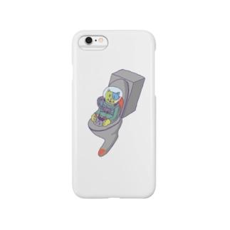 猫UFO Smartphone cases
