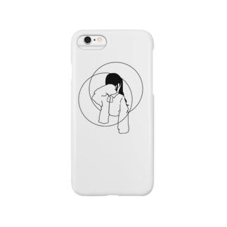 ◯顔隠すちゃん。ケース Smartphone cases
