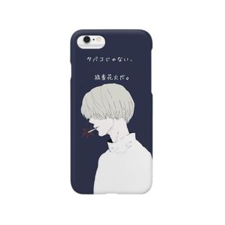 線香花火。 Smartphone cases