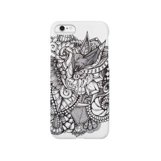 植物風タングル Smartphone cases