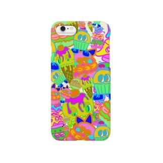 お菓子詰め合わせ Smartphone cases