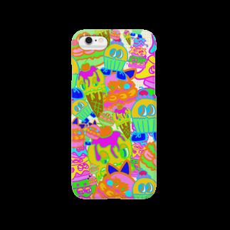 kokeshi00のお菓子詰め合わせ Smartphone cases