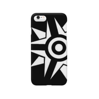 sabarius 黒 Smartphone cases