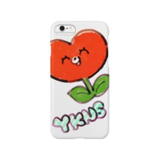 しょくぶつマン(赤) Smartphone cases