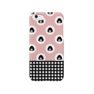 思春期おにぎりちゃん Smartphone cases