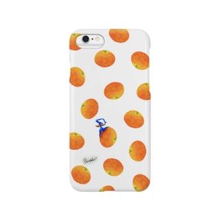 Fruit series!! -orange- white Smartphone cases