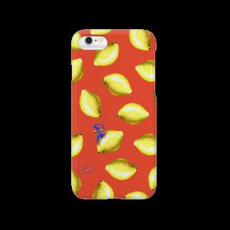 BenizakeのFruit series!! -lemon- red Smartphone cases
