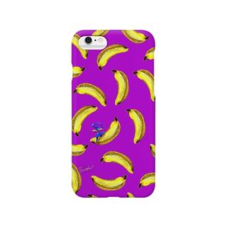 Fruit series!! -banana- purple Smartphone cases