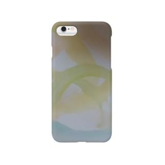 美しい星と海のオーロラ Smartphone cases