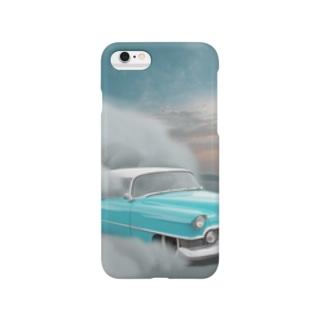 空飛ぶ車 Smartphone cases