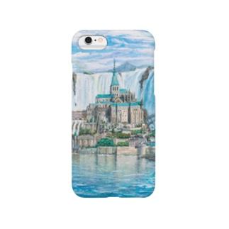 モンサンミッシェルinナイアガラの滝 Smartphone cases