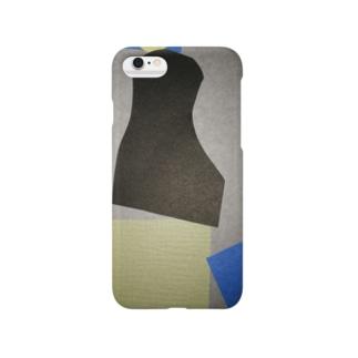 灰色に潜む密かな人 Smartphone cases