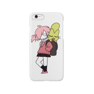 ゆうきちゃんとねこ Smartphone cases