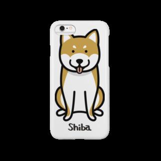 柴犬。 スマートフォンケース