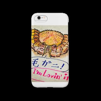 tomiy510のオホーツク産の毛ガニ Smartphone cases