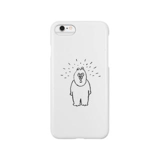 パァァァなクマのiPhoneケース Smartphone cases