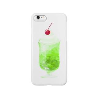 クリームソーダ Smartphone cases