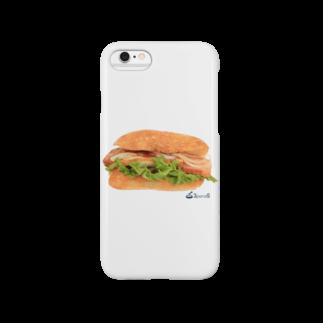 3pondSのベーコンサンド! Smartphone cases