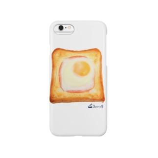 エッグトースト スマートフォンケース