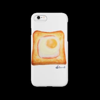 3pondSのエッグトースト スマートフォンケース