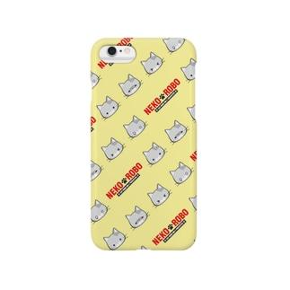 NEKO ROBO_06柄 Smartphone cases