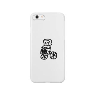 自転車 ぱん さん Smartphone cases