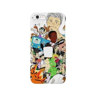 バトル虎イアル Smartphone cases