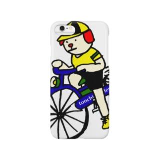 ウクちゃんと自転車 スマートフォンケース
