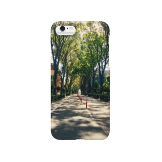ケヤキ並木ケース Smartphone cases