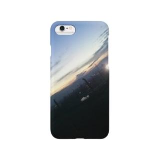 傾く空で見えたもの Smartphone cases