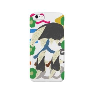 アリクイの親子 Smartphone cases