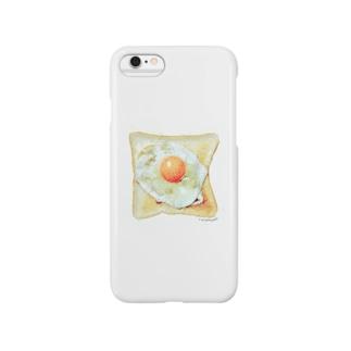 目玉焼きパン Smartphone Case