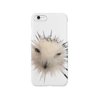 フクロウです Smartphone cases