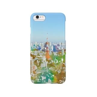 やっぱり東京タワーっていいよね パート2 Smartphone cases