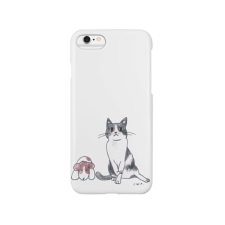 100nyans036.ミー助 Smartphone cases