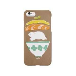 カツ丼 Smartphone cases