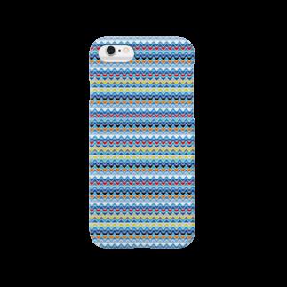 KULOKULOのSaNKaKu002_Border_Ao Smartphone cases