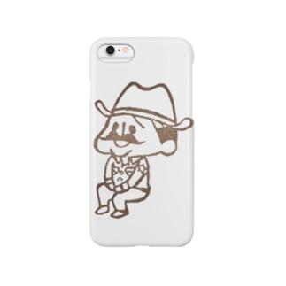 待機園長シリーズ (カウボーイ) Smartphone cases