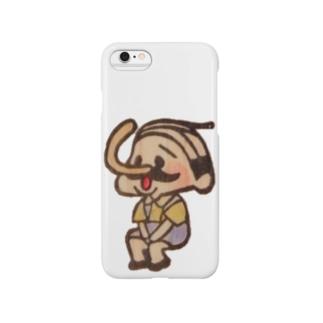 待機園長シリーズ(ピノキオ) Smartphone cases