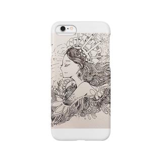 自由の女神様 Smartphone cases