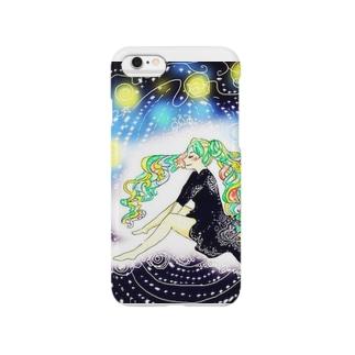 発光ガール Smartphone cases