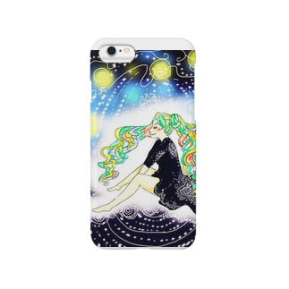 the supremacyの発光ガール Smartphone cases