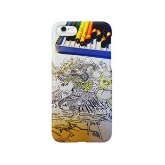 お姉ちゃんの色鉛筆 Smartphone cases