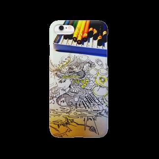 the supremacyのお姉ちゃんの色鉛筆 Smartphone cases