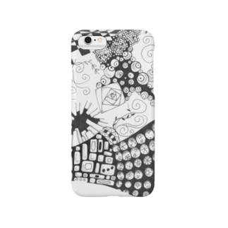 白黒の世界 Smartphone cases