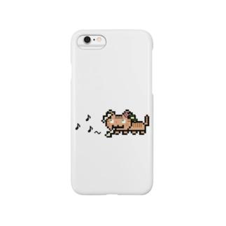 角笛猫2D-1 Smartphone cases