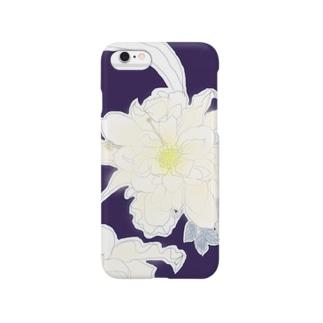 夜に咲く花 Smartphone cases