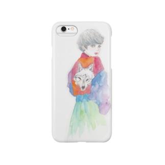オオカミ少女 Smartphone cases